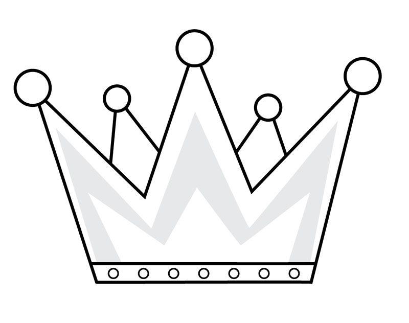 Resultado De Imagen Para Dibujos De Coronas De Reyes Rey Para Colorear Corona Dibujo Corona De Rey