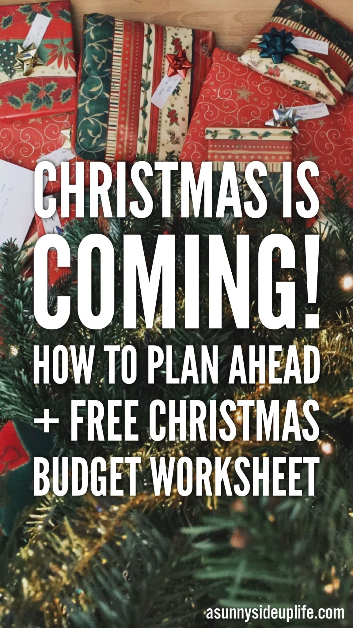 Planning Ahead For Christmas