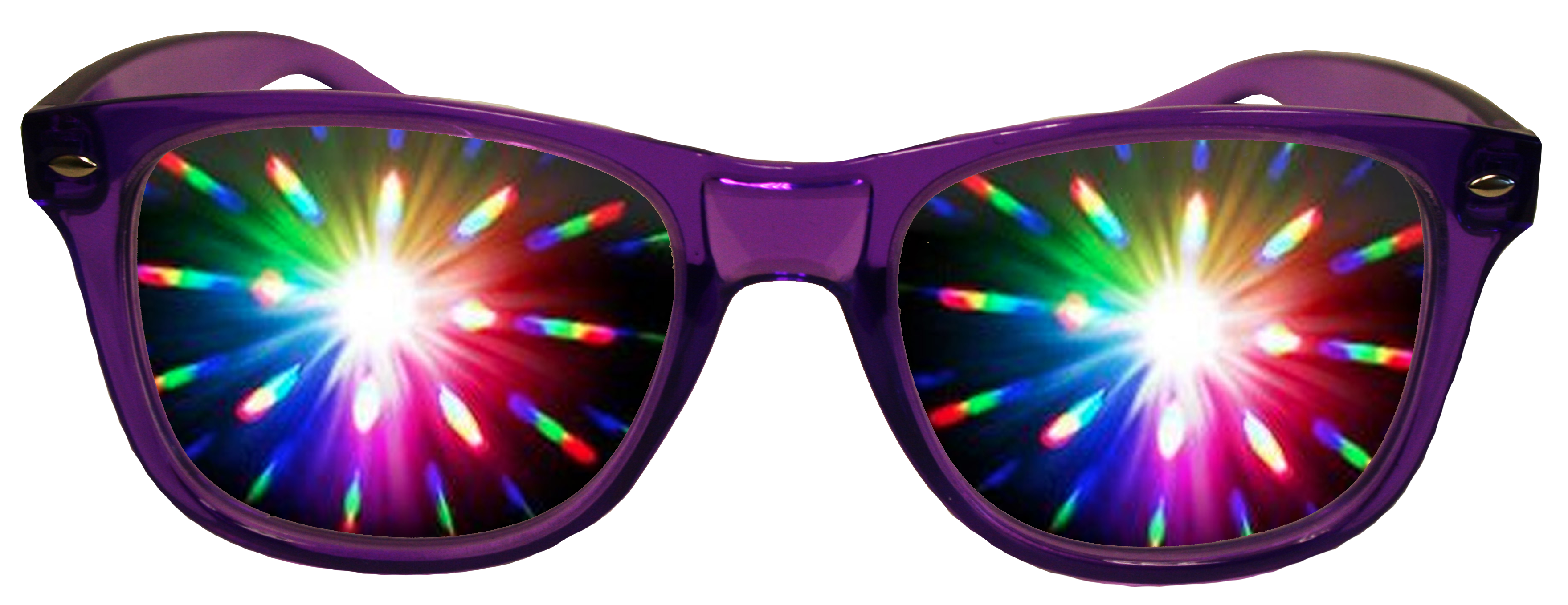 Purple Diffraction Rave Glasses By American Paper Optics Guaranteed Best Pricing Www The3dmarket Com Diffraction Glasses Glasses Rave Glasses