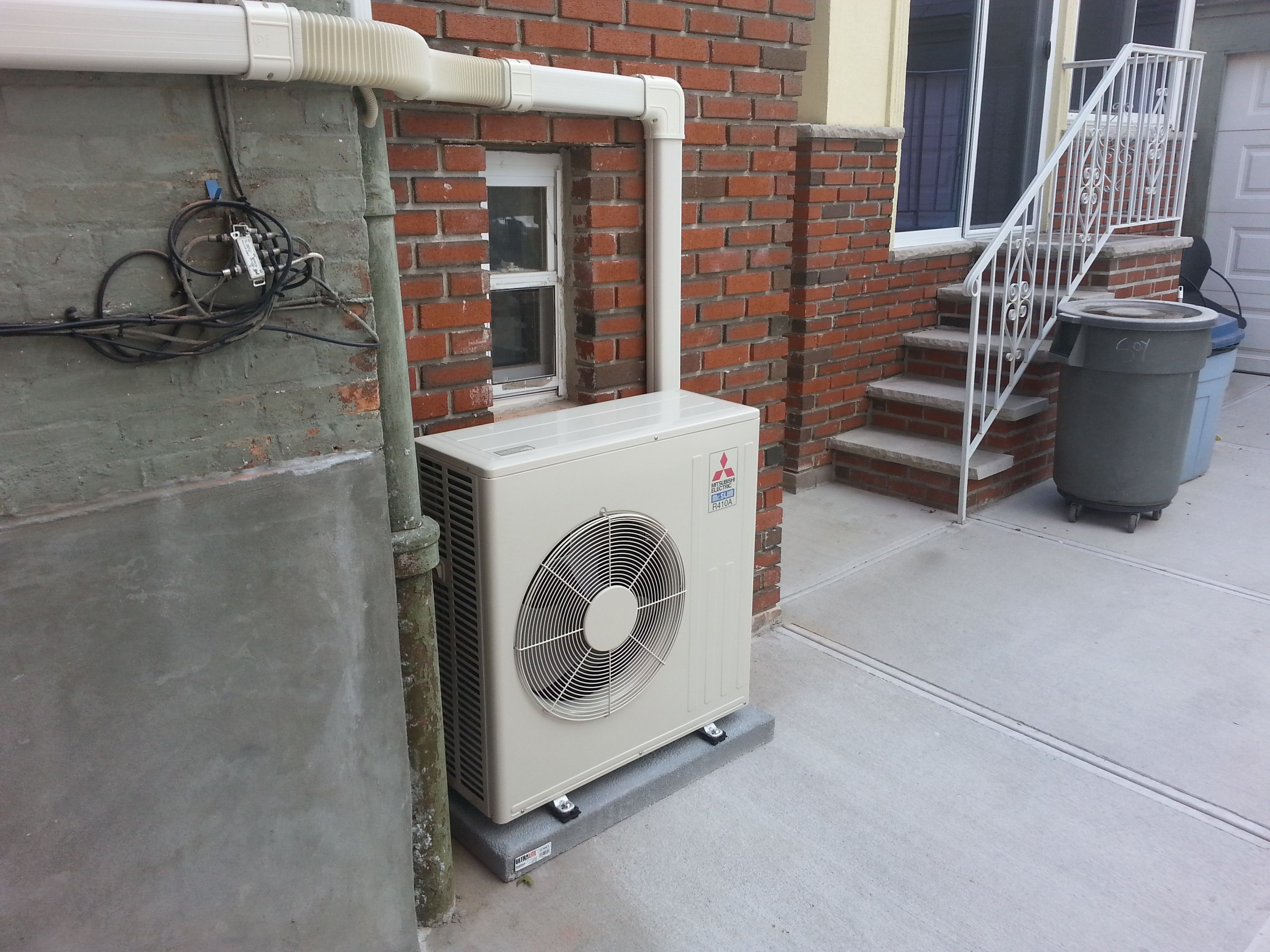 Ductless Install In Astoria  Ny