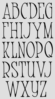 Image Result For Cool Hand Lettering Font