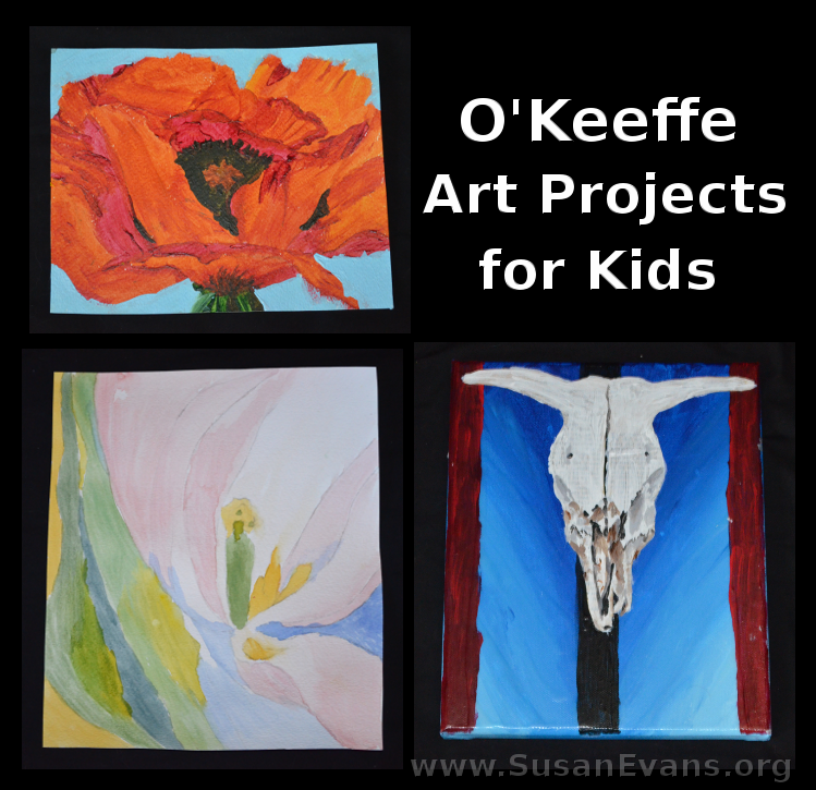 Georgia O\'Keeffe Art Projects for Kids | Schule und Blumen