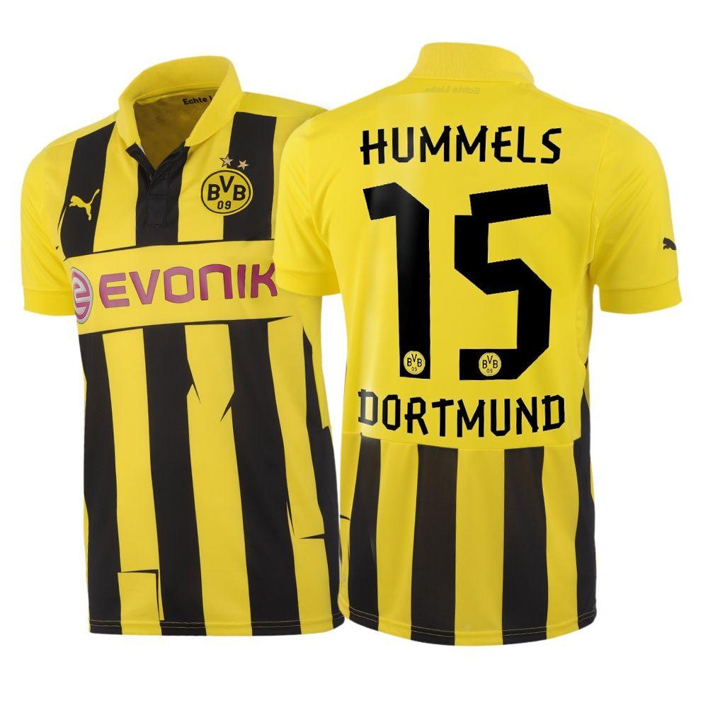 innovative design d4c8e bf3e6 BVB Borussia Dortmund (Germany) - 2012/2013 Puma Champions ...