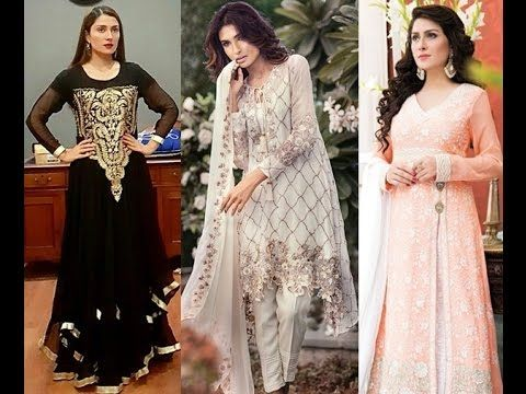 012f481b958d9 Top Pakistani Designer Party Wear Dresses 2017 2018 for Girls ...