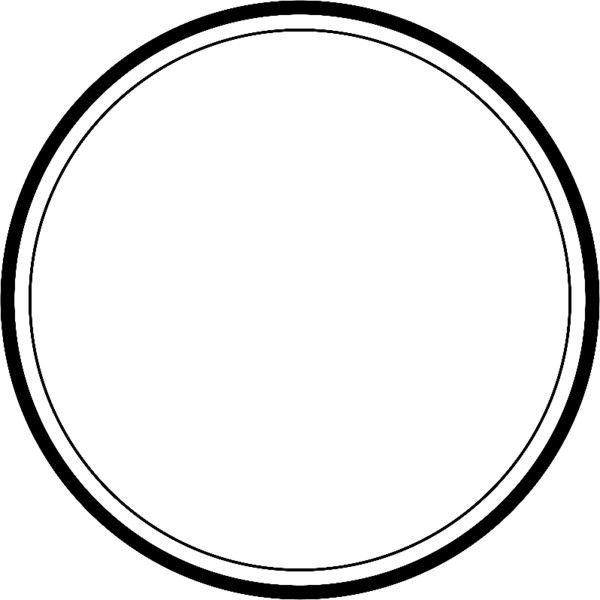 Circle With Thick And Thin Outline Found On Polyvore Frame Logo Food Logo Design Inspiration Black Background Images
