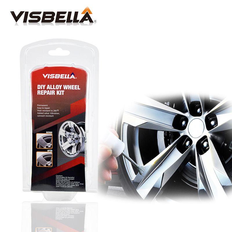 Visbella Alloy Wheel Repair Hand Tool Sets Adhesive Kit