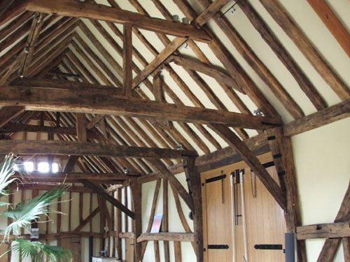 Barn Oak Framing | интерьер шале | Pinterest | Horsham, Joinery and Barn