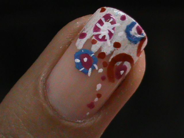 Easy nail art for short nails to do at home with easy step by step ...