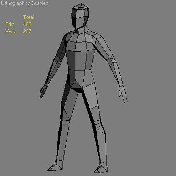 Low Poly Character Modeling Tutorial Blender : Http turbosquid d models man max