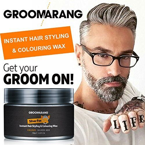Amazon.com : Groomarang Silver Fox Instant Free Style Hair Styling ...