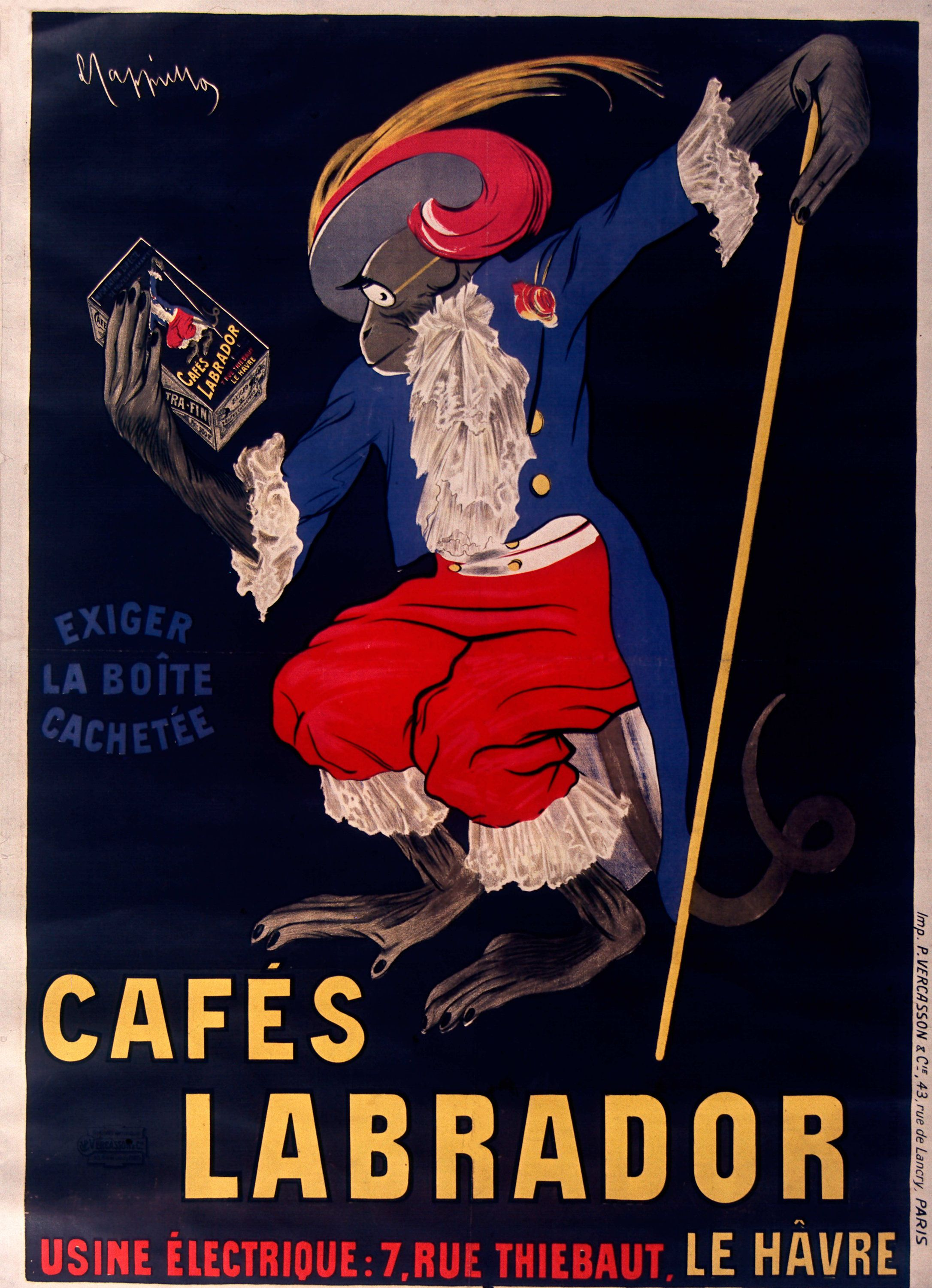 See The Latest Addition To My Shop Vintage Advertising Poster For Labrador Coffee Manufactured Vintage Posters Vintage Advertising Posters Leonetto Cappiello