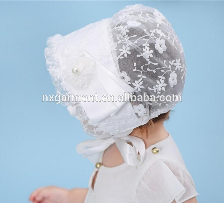 5dcbf9f0eb047 Resultado de imagem para chapeu de renda para bebe
