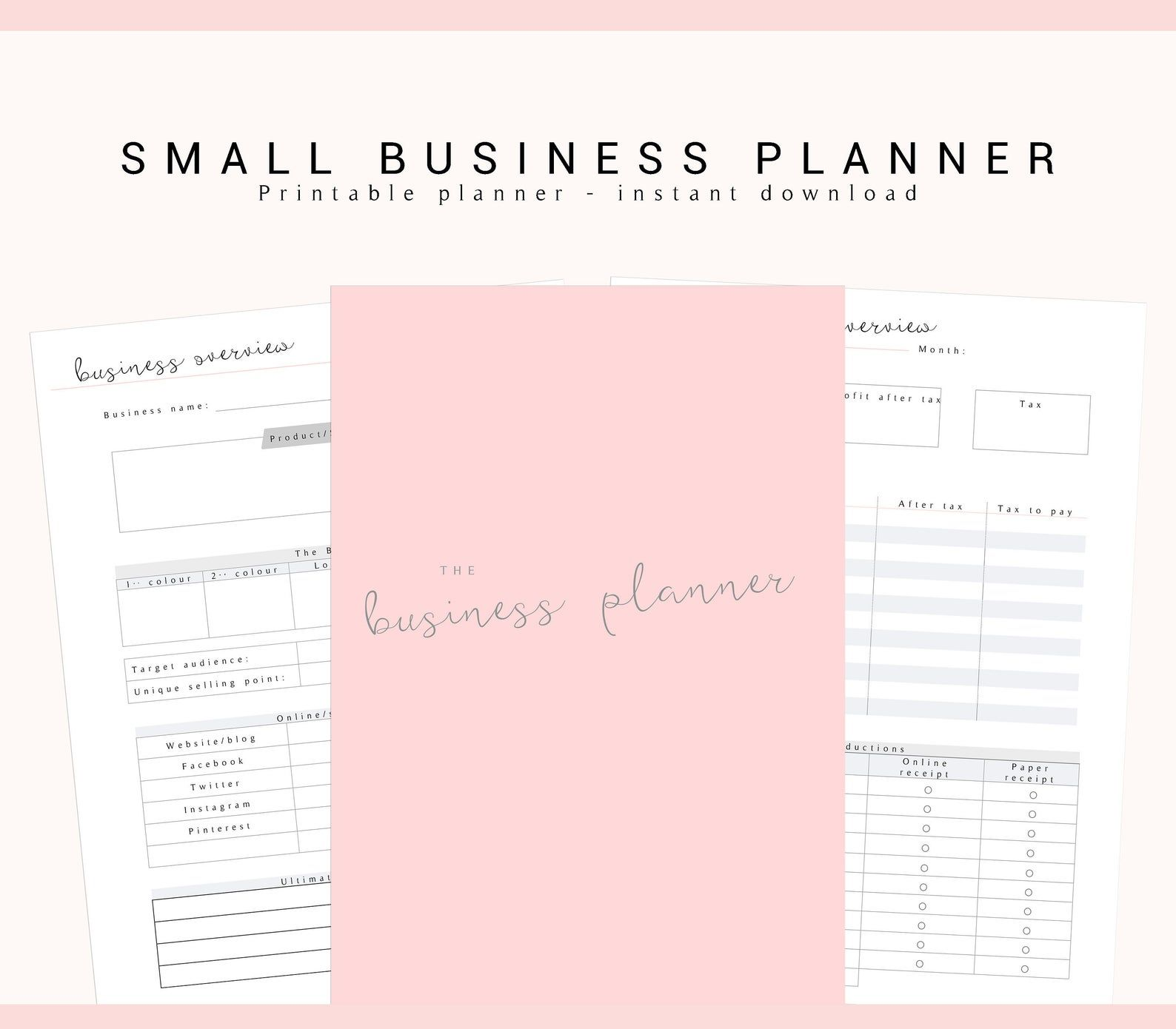 Pin on Planners for Boss Babes