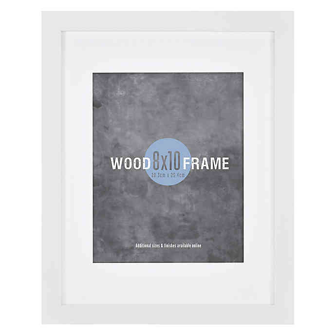11 Inch X 14 Inch Gallery Frame With 8 Inch X 10 Inch Mat In 2020 Gallery Frame Frame White Gallery Frames