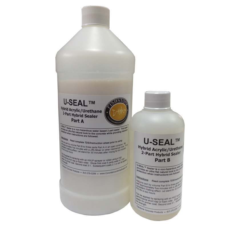Our Best Concrete Countertop Sealer On The Market U Seal Is A New