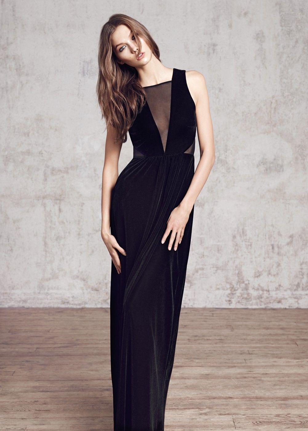 Lange velours jurk dames karlie kloss prom and clothes