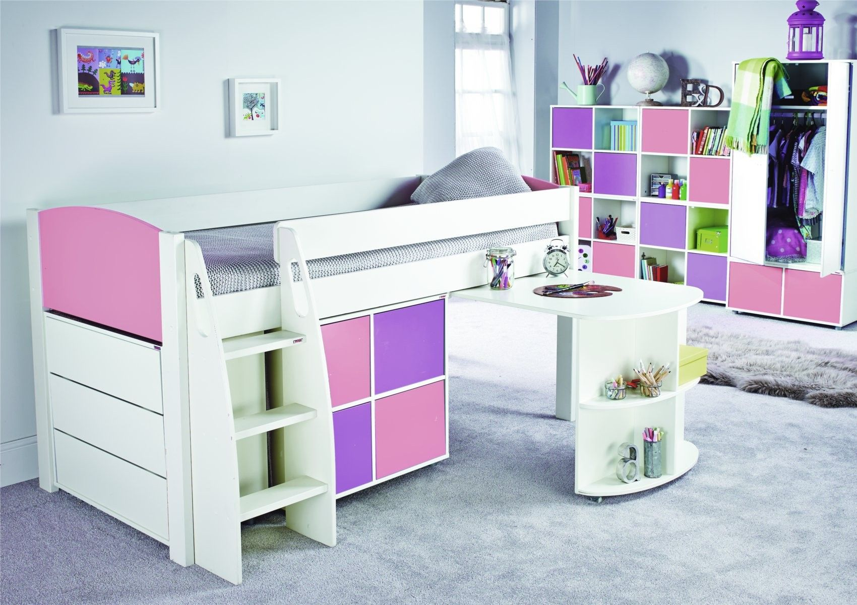 The Midsleeper range is ideal for children between ages 6