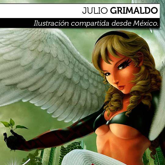 Ilustración. A new beginning is coming de JULIO GRIMALDO  Ilustración compartida desde México.    Leer más: http://www.colectivobicicleta.com/2012/09/ilustracion-de-julio-grimaldo.html#ixzz26GZO66yO