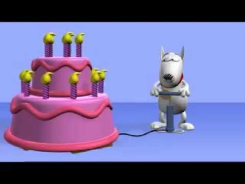 Happy Birthday Song Cute Dogs Bark Song S Children Youtube Happy Birthday Video Happy Birthday Song Happy Birthday Funny