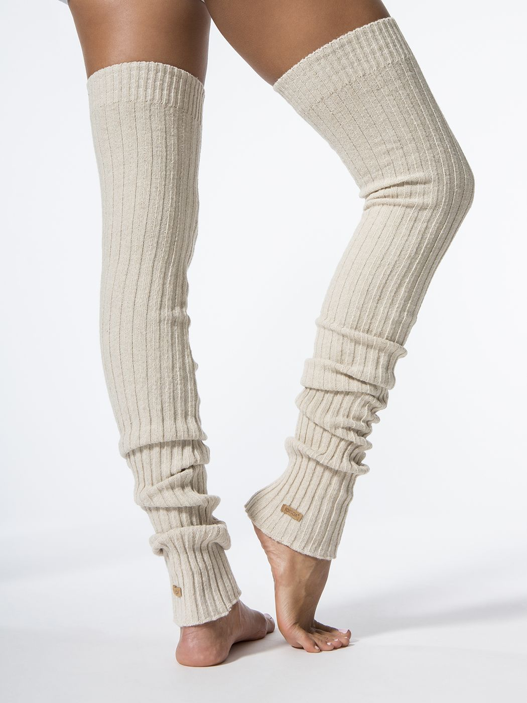 7b0c01743 TOESOX Leg Warmers-Thigh High Ivory LEG WARMERS + SOCKS