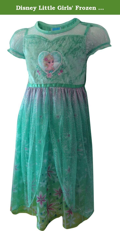 WebUndies.com Disney Frozen Princess Elsa Frozen Fever Toddler Nightgown  Frozen Princess 243984abf