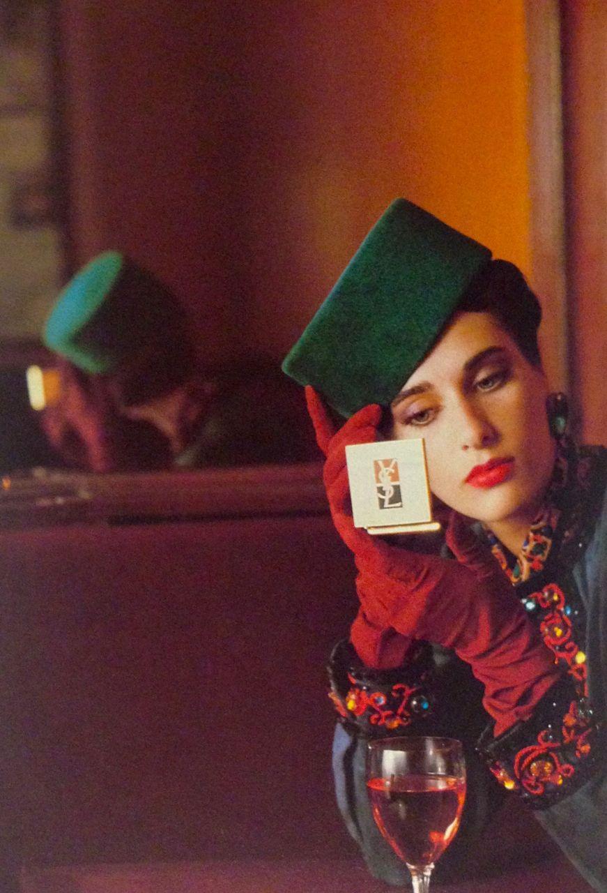 Yves Saint Laurent Cosmetics Ad 1984 Iv Sen Loran Modnye Stili Stilist