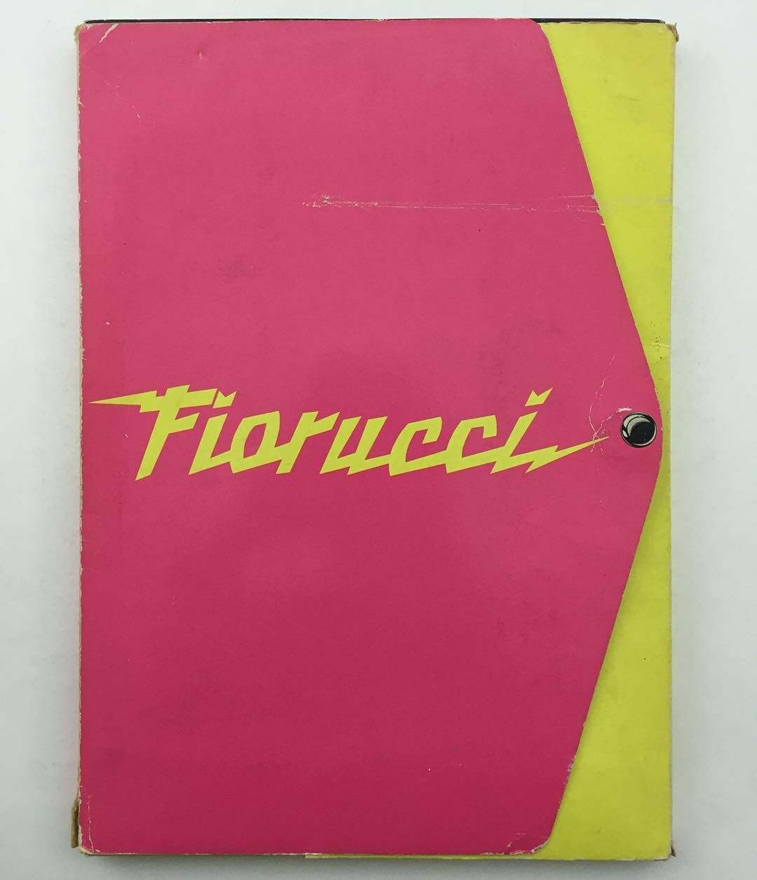 """""""Wake up to this. The Fiorucci sticker album. 1985. Alive! One album of 200 stickers all complete. All completely amaze. The great graphic reference. The…"""""""