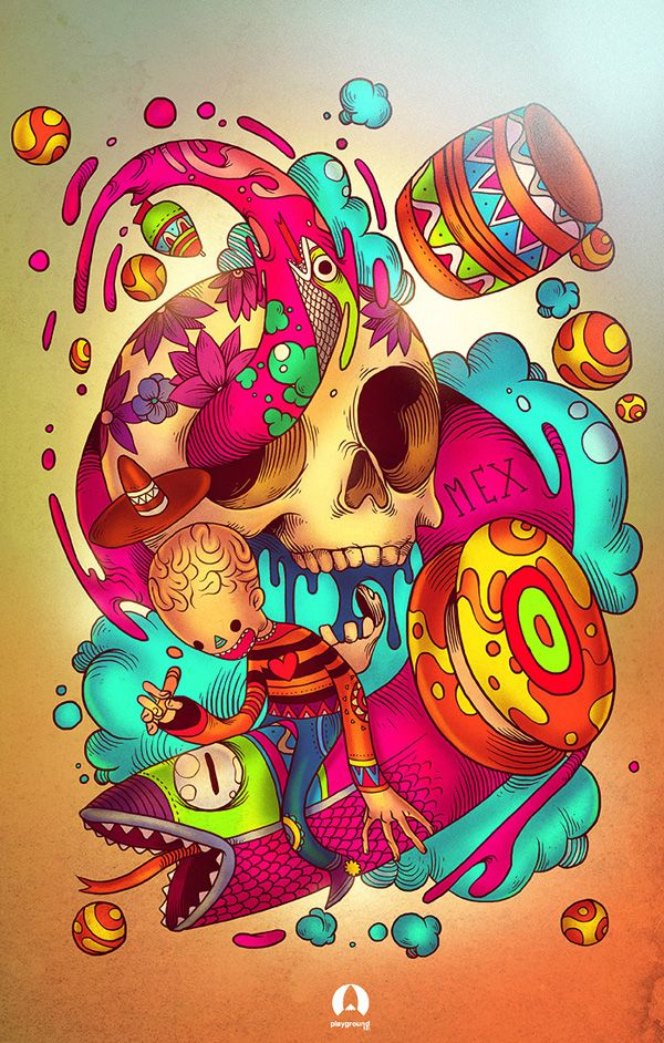Playground 901 4ta Semana Juegos Mexicanos Por Raul Urias