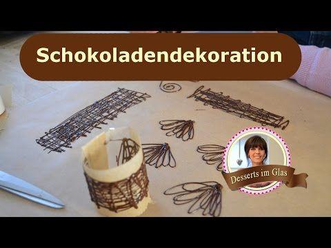 Schokoladen Dekor Fur Desserts Und Kuchen Selber Machen Schoko
