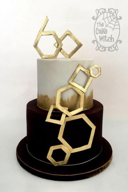 43 Trendy Ideas Birthday Cake Gold Luxury -   4 modern cake For Men ideas