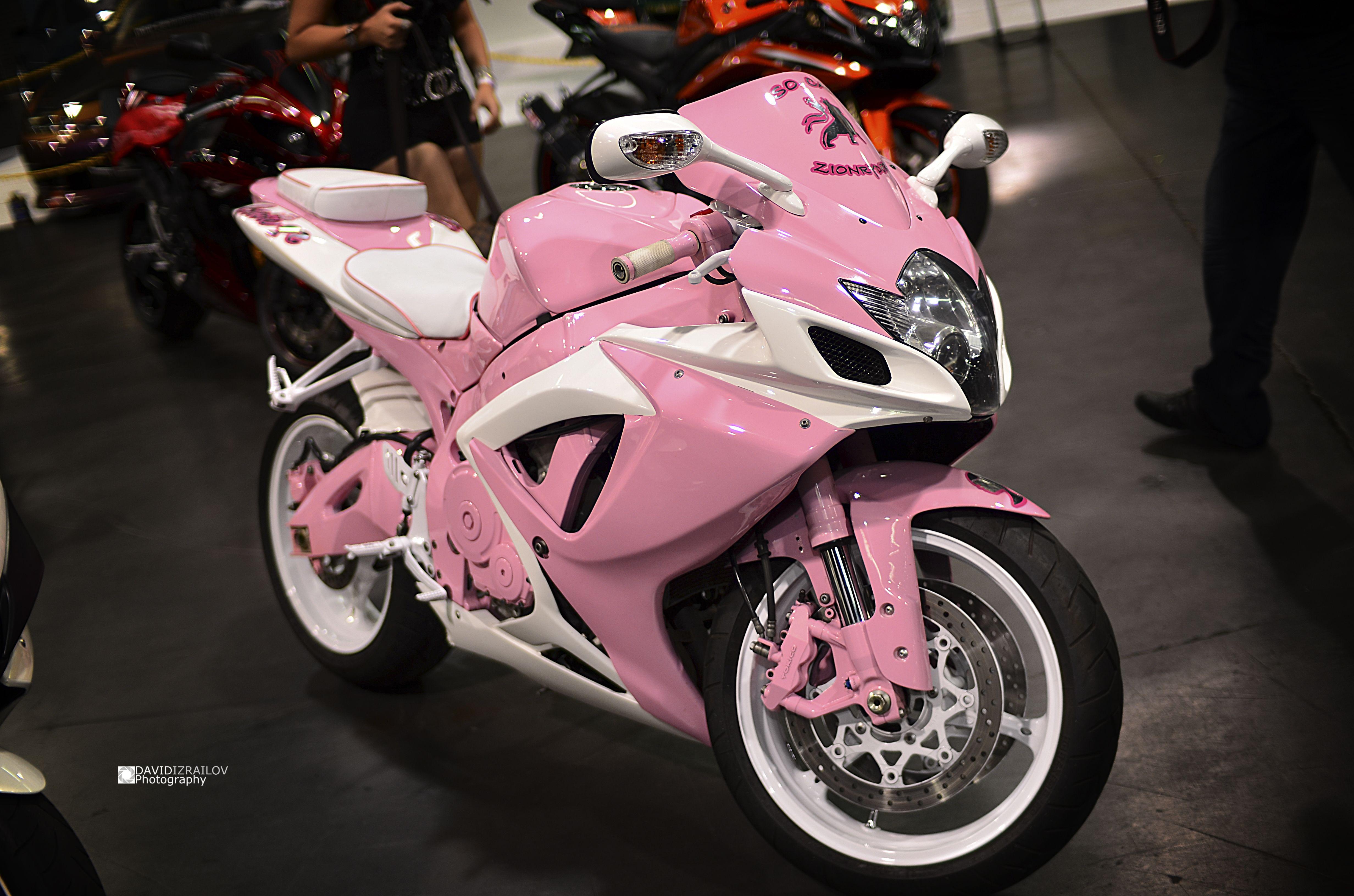 pink motorcycle motorcycles bike super bikes sport street custom girly flickriver pretty google think cars rosa ride gemerkt
