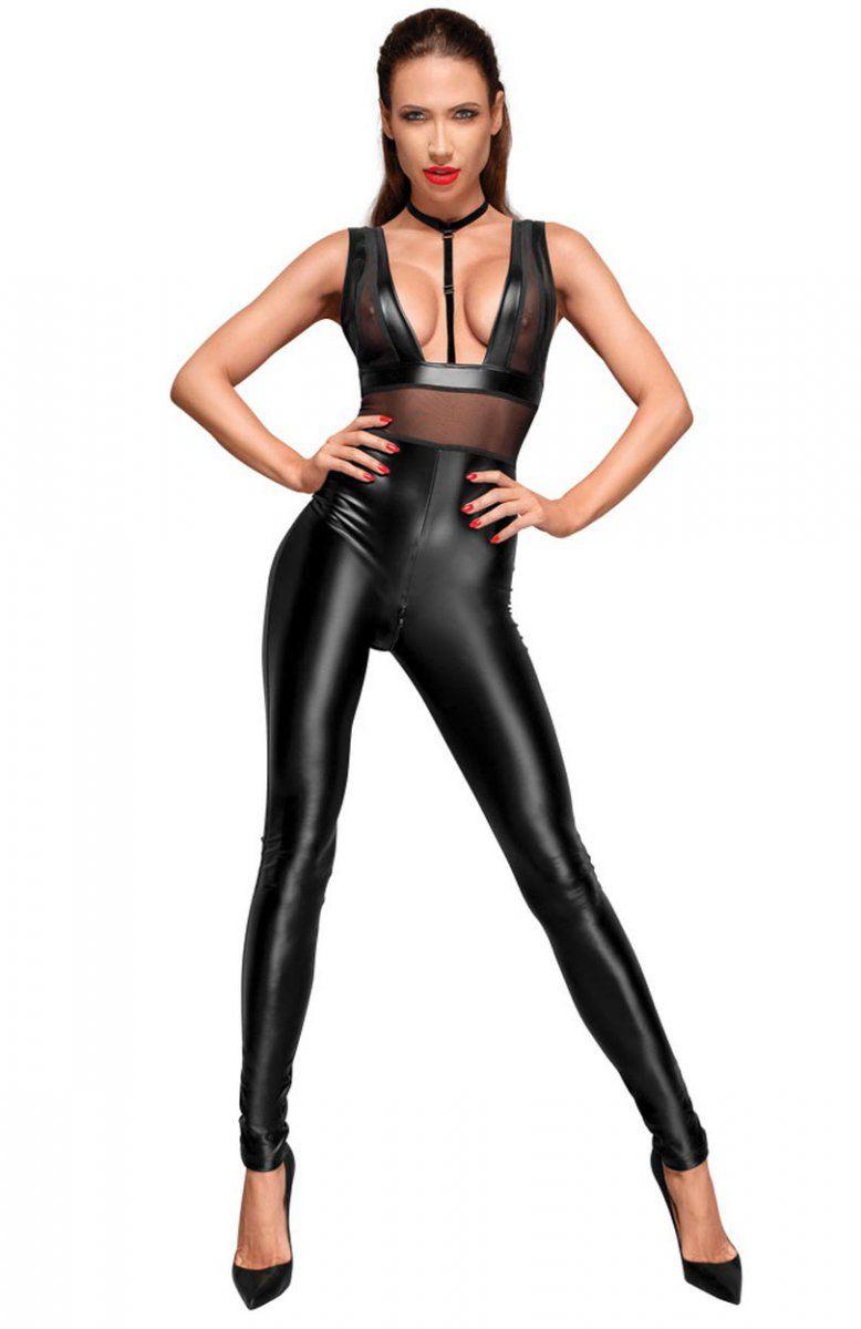 691c7a1a1d6ee0 Noir 2730405 kombinezon Tej nocy zaskocz swojego partnera niesamowitą  propozycją od marki Noir handmade, ten model bodystocking ponętnie oplecie  Twoje ciało ...