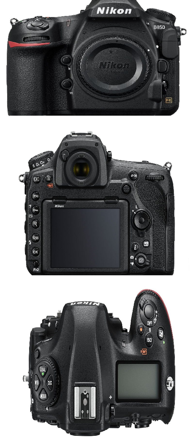 Best Camera (No.1) in New Release: Nikon D850 FX-format Digital SLR ...