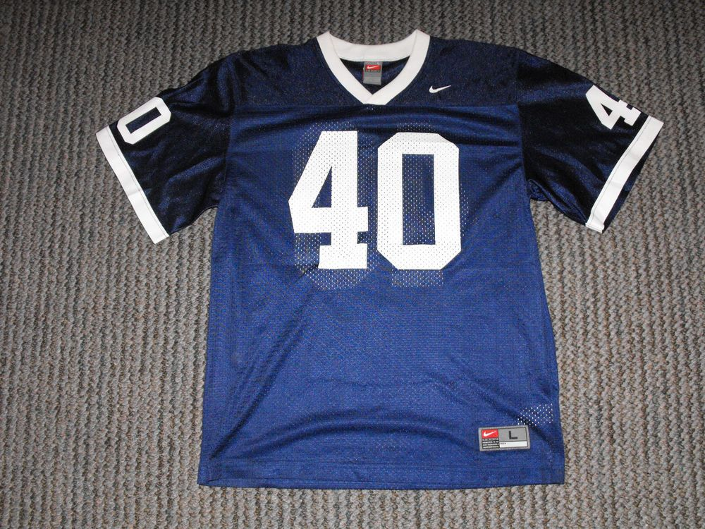 best authentic 1da32 118c0 RARE - PENN STATE NITTANY LIONS - #40 FOOTBALL JERSEY - NIKE ...