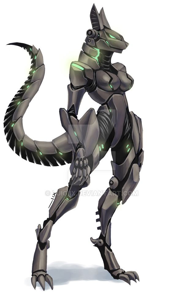 e621 android breasts canine female luigiix machine mammal