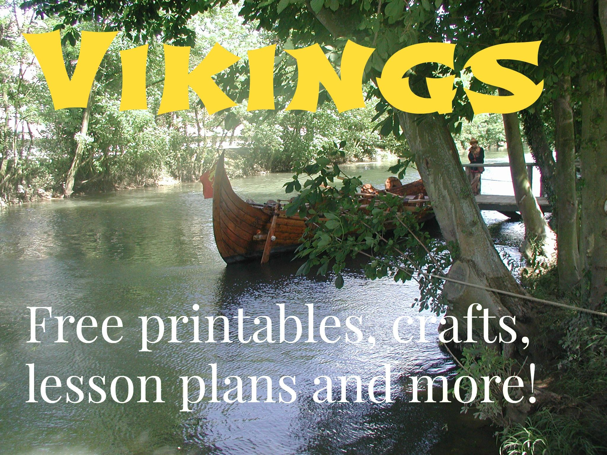 Homeschool that is Viking! Free lesson ideas, crafts, printables and much more