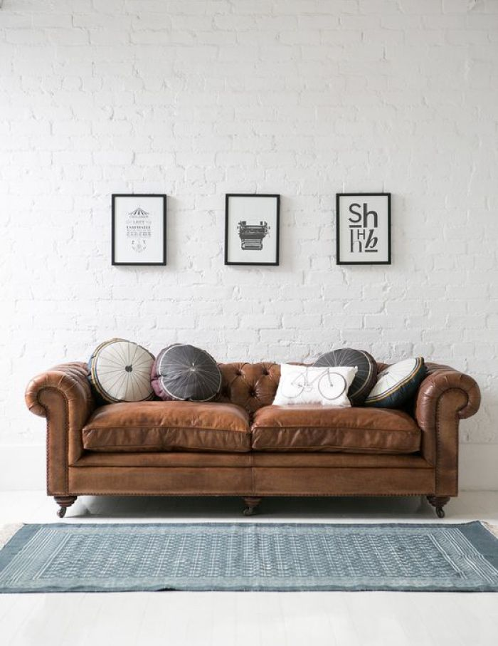 Divano chesterfield: un mito dell\'interior design rivisitato da Vama ...
