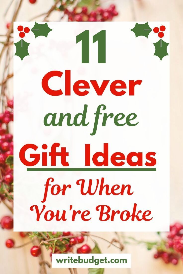 11 Creative & Free Gift Ideas they'll Love - The Write Budget