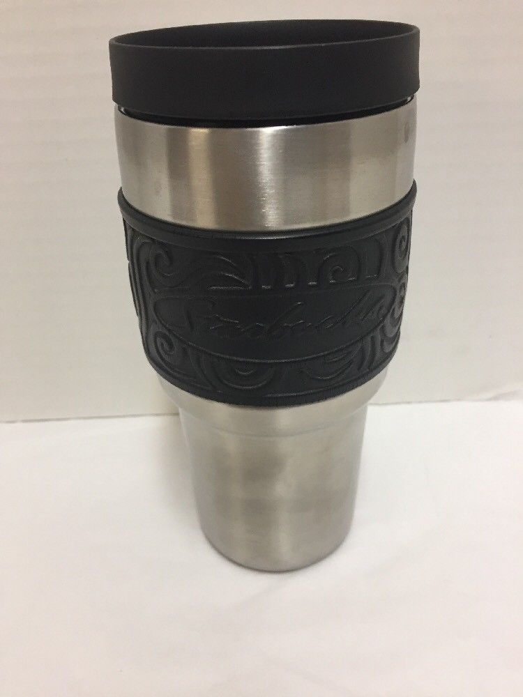 75769373cba Starbucks Stainless Steel Travel Coffee Mug Tumbler Black Grip 18 8 SS |  Collectibles, Advertising, Food & Beverage | eBay!