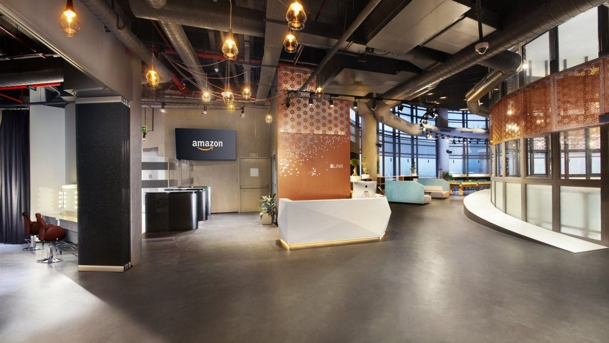 Amazon Blink Offices New Delhi Corporate Design Design