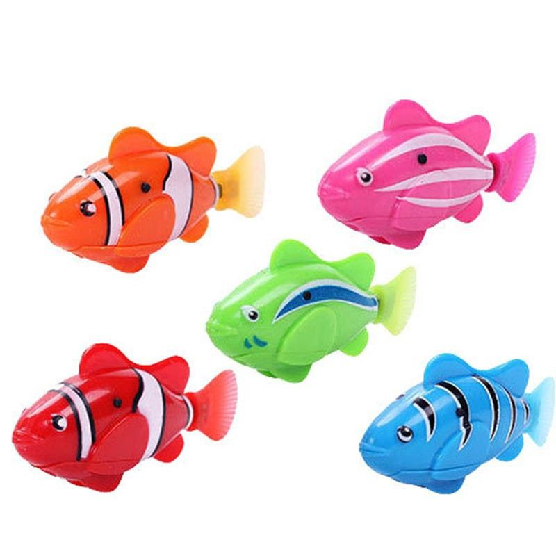 $4.74 - Awesome Lovely Baby Fish Toys Water Spraying Squeeze ...