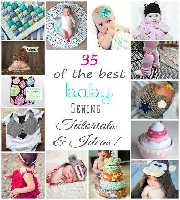 35+ Baby Sewing Tutorials & Ideas {found through pinterest!}