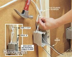 how to rough in electrical wiring electrical pinterest rh pinterest com