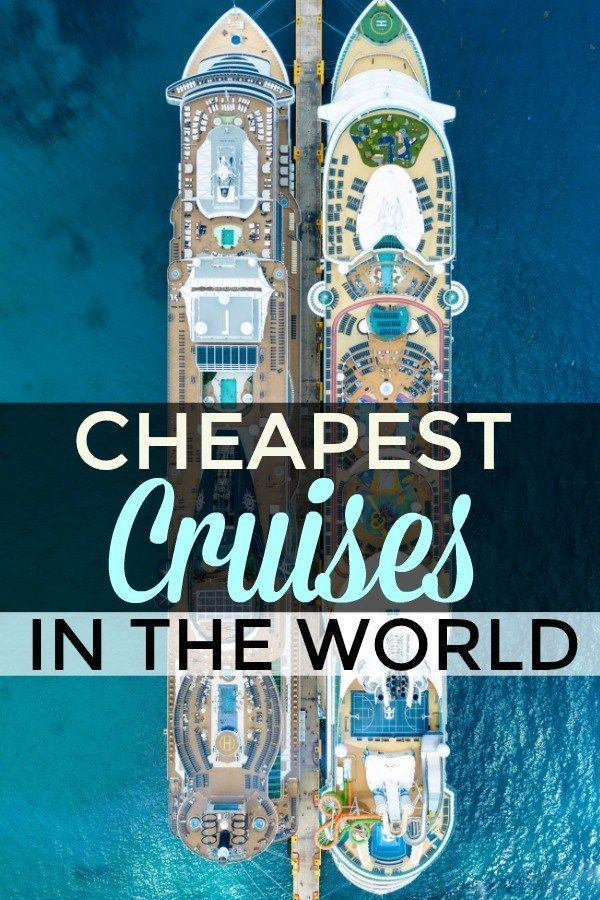 Top 10 Cheapest Cruises For 2020 Starting At Only $26 Per