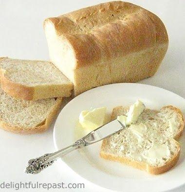 Delightful Repast: Classic White Sandwich Bread