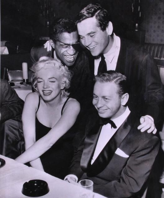 Mm Sammy Davis Milton Greene And Mel Torme At The Crescendo