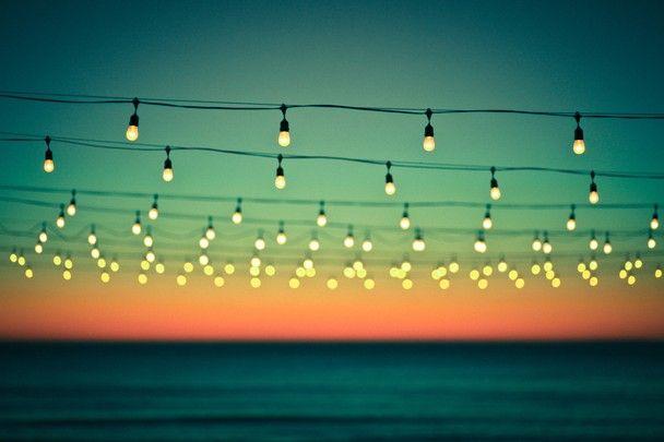 beach lights penelope retold print image pinterest summer