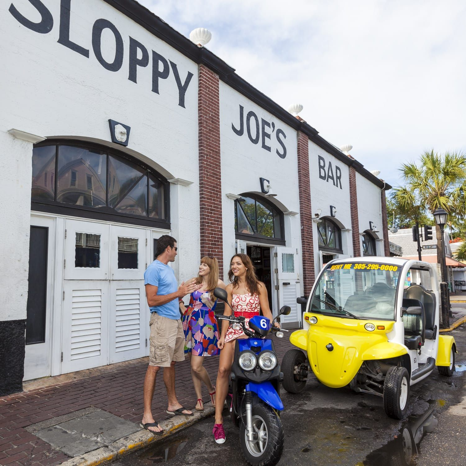 Key West Electric Car Rentals With Pirate Scooter Rentals Of Key West Rent Your Key West Electric Cars Today Best Rates Scooter Rental Key West Car Rental