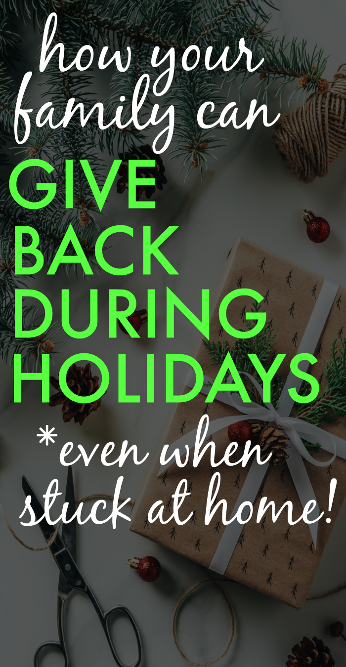 19 Service Projects And Family Holiday Volunteer Opportunities Even From Home In 2020 Holiday Activities For Kids Holiday Volunteering Printables Free Kids