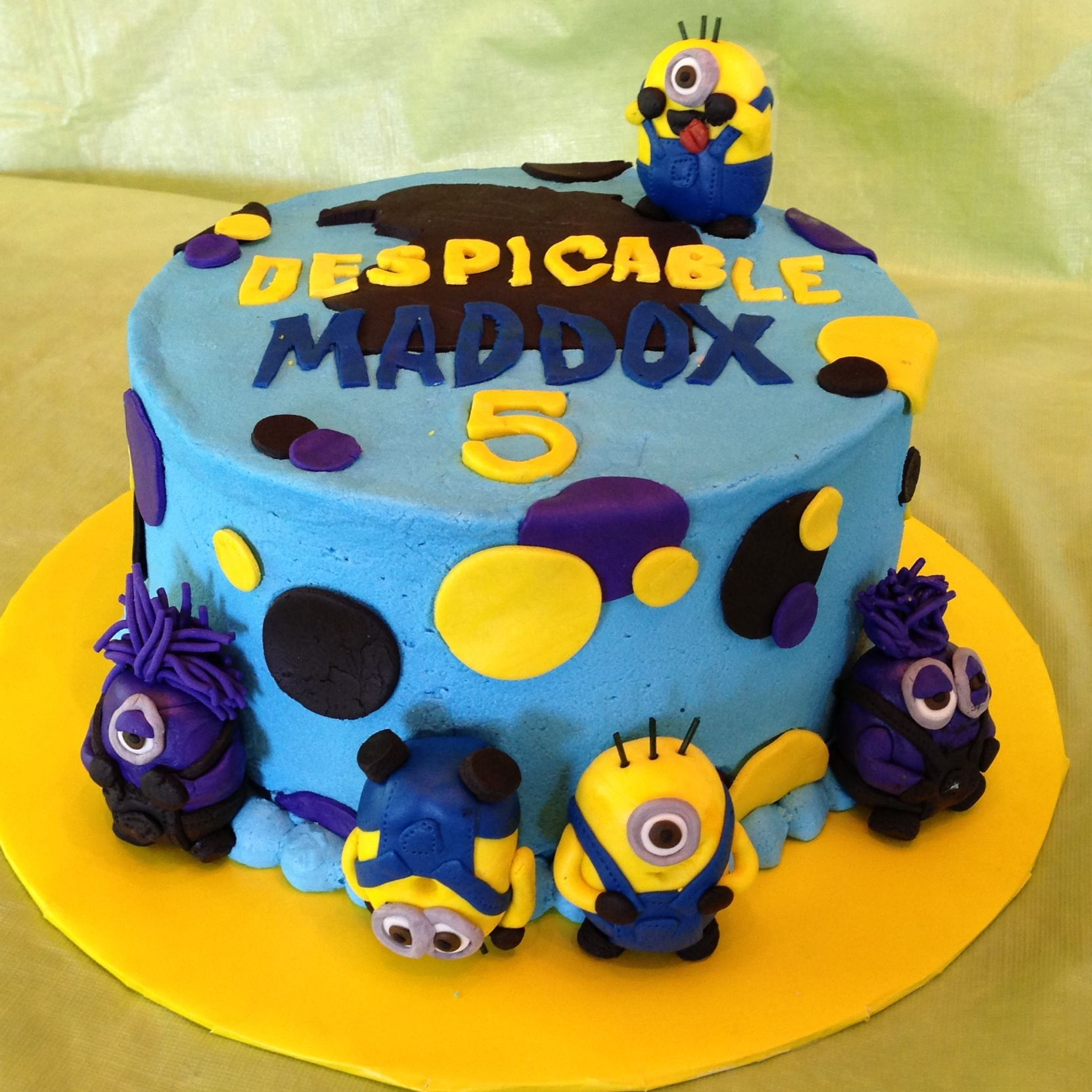 Magnificent Despicable Me 2 Cake Boy Birthday Cake Cool Birthday Cakes Funny Birthday Cards Online Inifofree Goldxyz